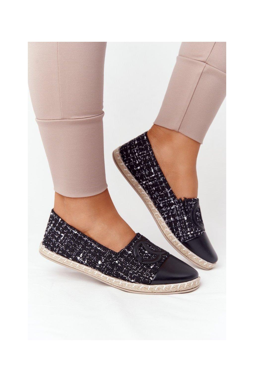 Dámske tenisky farba čierna kód obuvi 21TX02-3694 BLACK