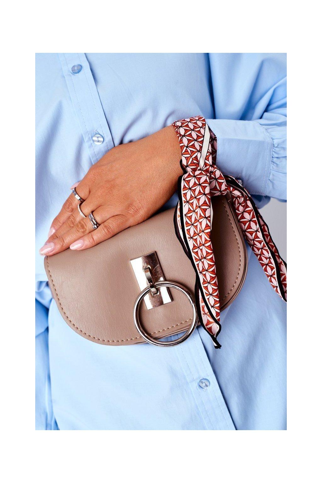 Dámska kabelka hnedá kód kabelky NR 112 BEIGE