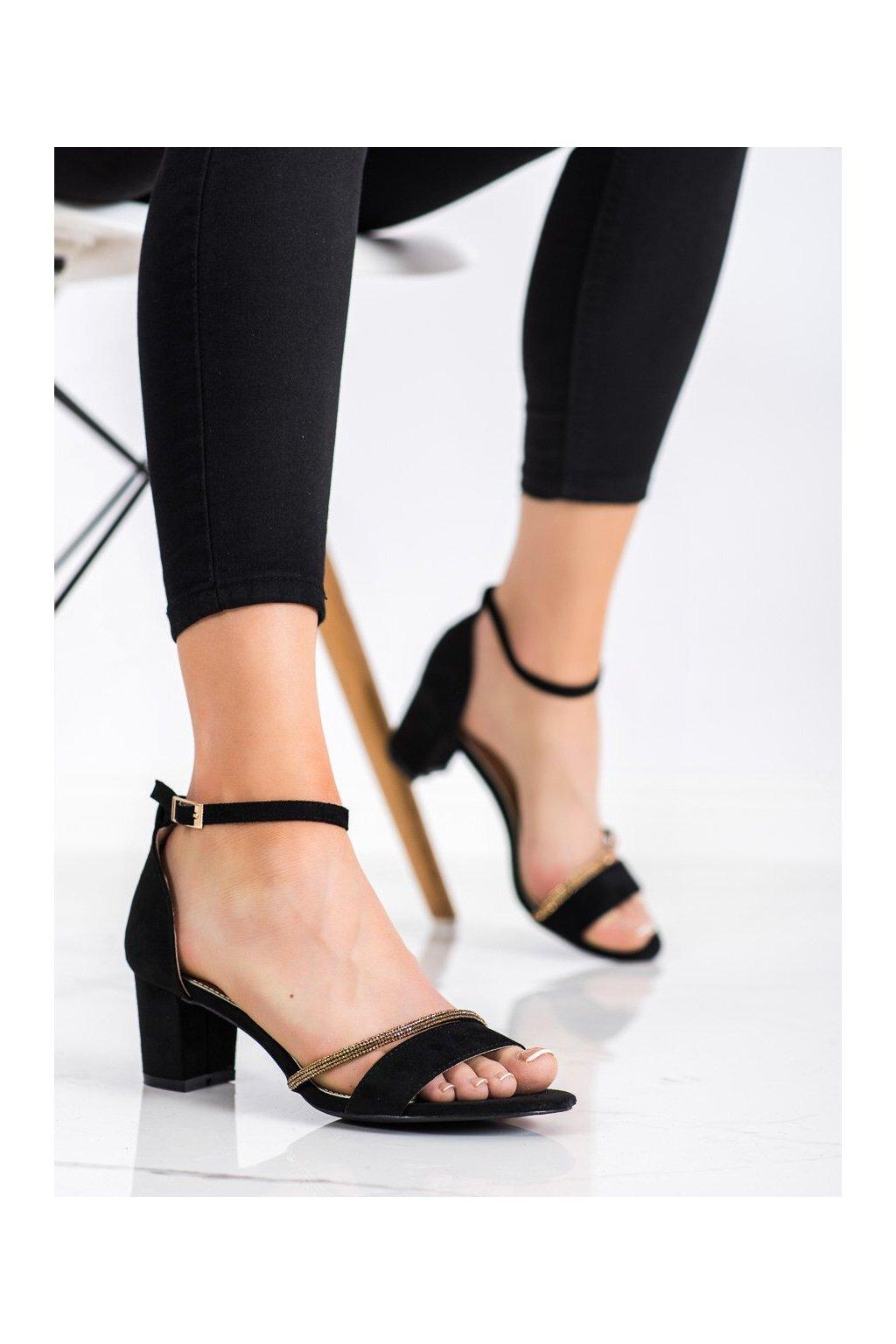 Čierne sandále Goodin kod GD-XR-204B/GO