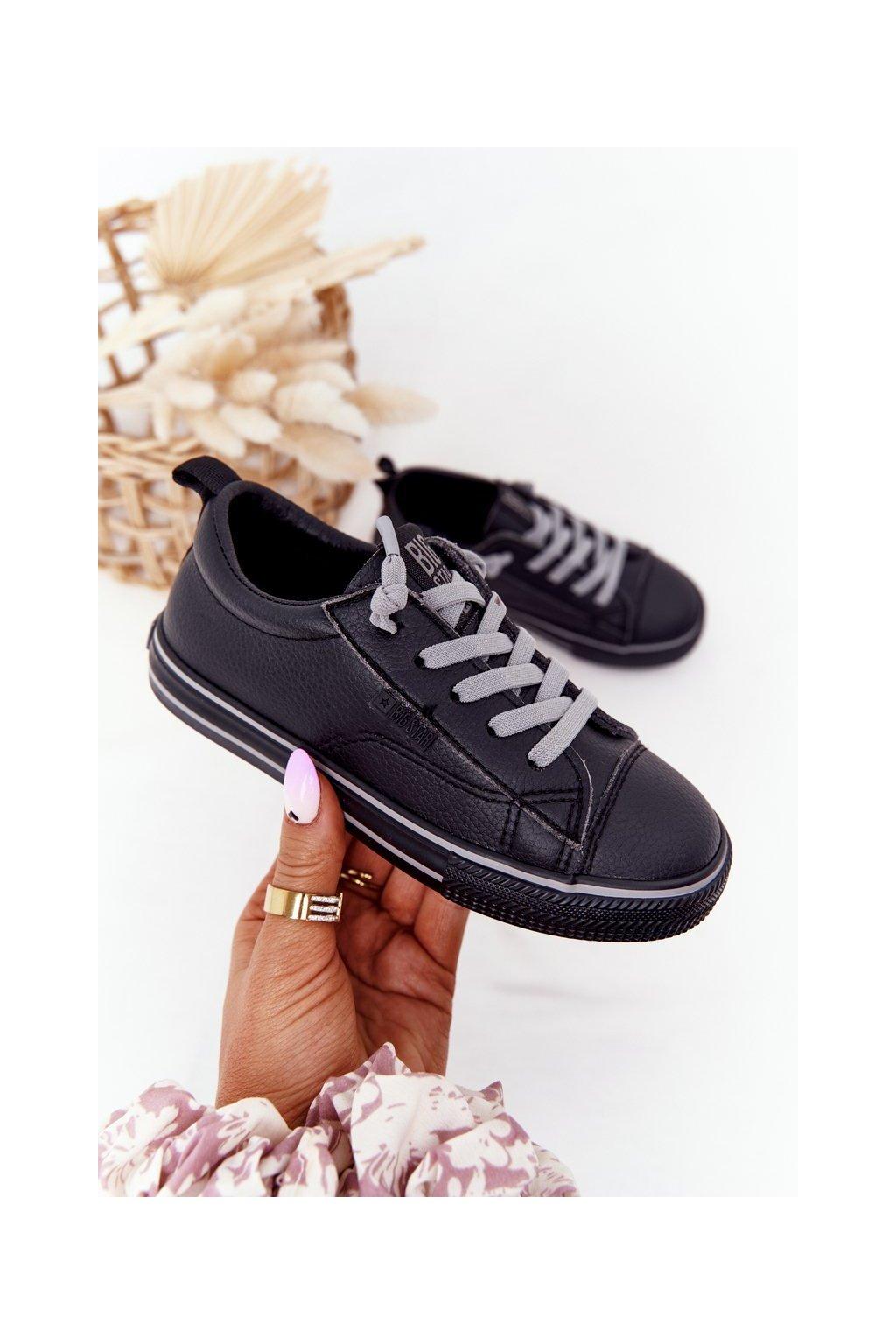 Detské tenisky farba čierna kód obuvi HH374038 BLACK