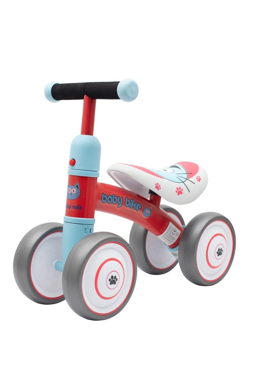 Detské odrážadlo Baby Mix Baby Bike červené