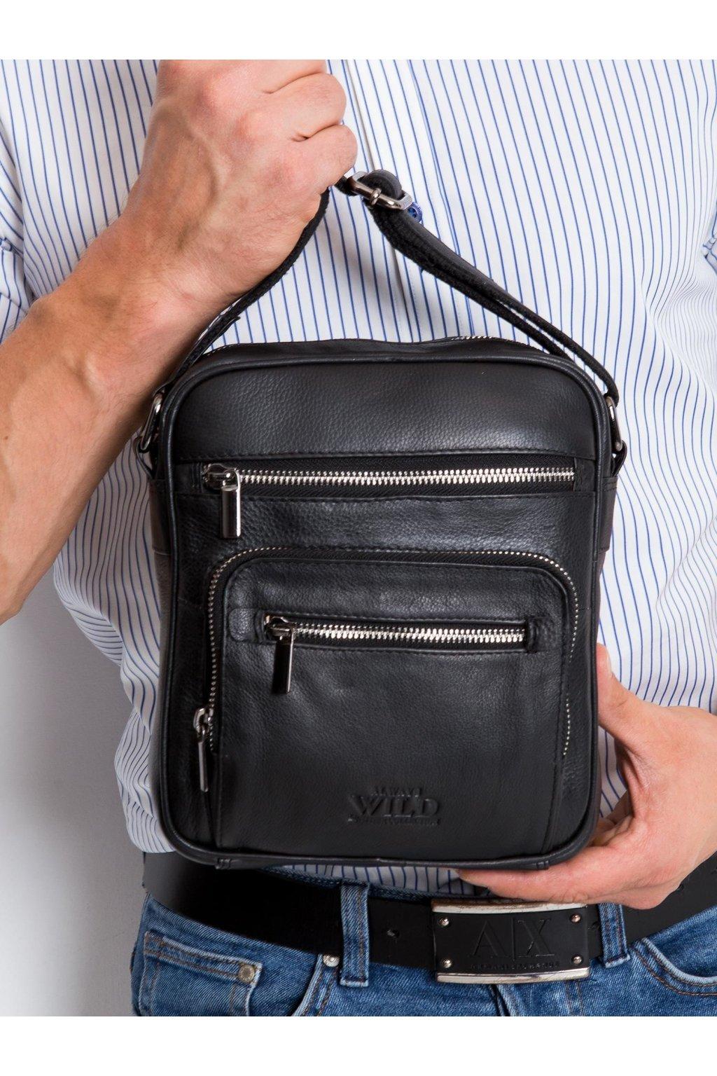 Pánska kabelka čierna kód CE-TR-22399-NDM.63
