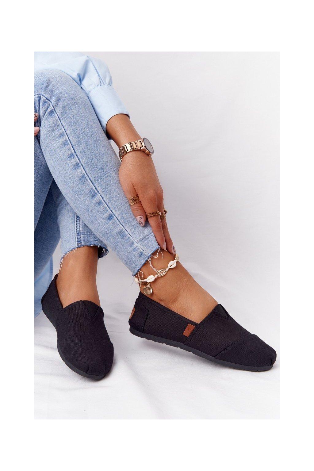 Dámske tenisky farba čierna kód obuvi 21TX02-3693 BLACK