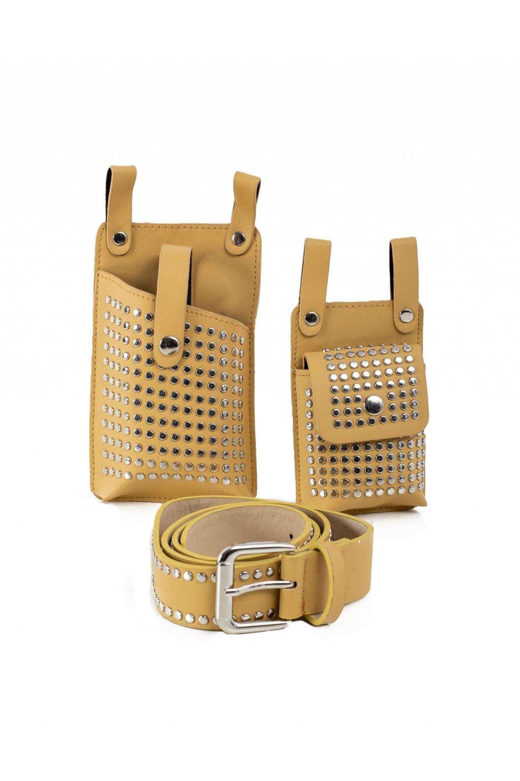 Crossbody kabelka žltá kód OW-TR-AMP-CT3008