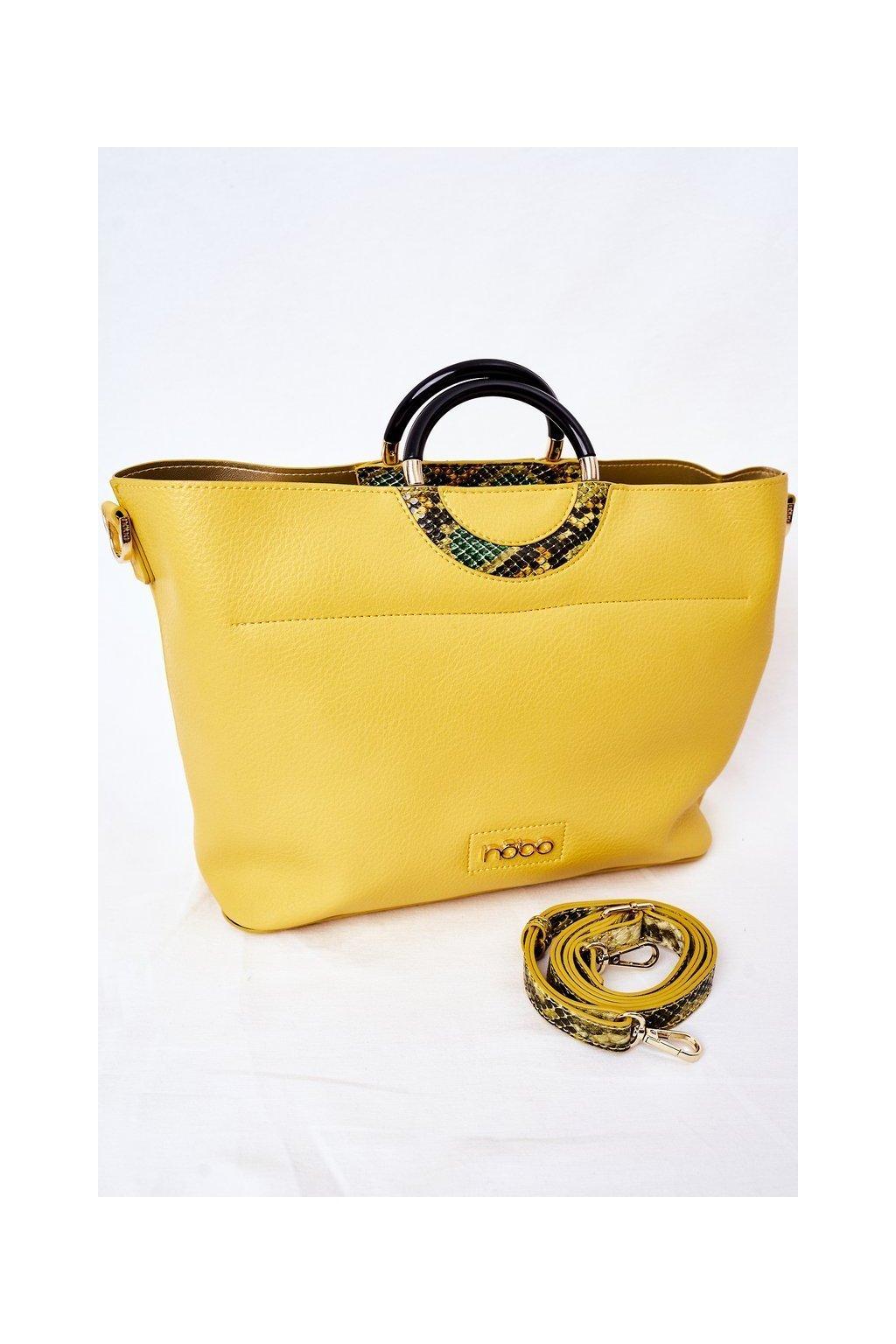 Dámska kabelka žltá kód kabelky NBAG-K3520-C002 YELLOW