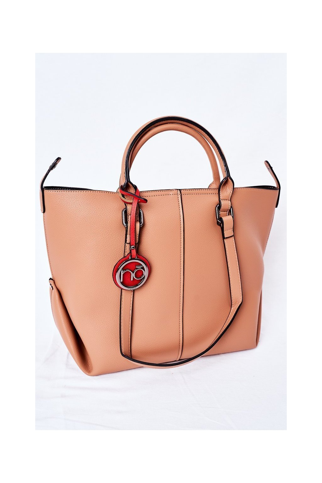 Dámska kabelka hnedá kód kabelky NBAG-K2300-C015 BROWN
