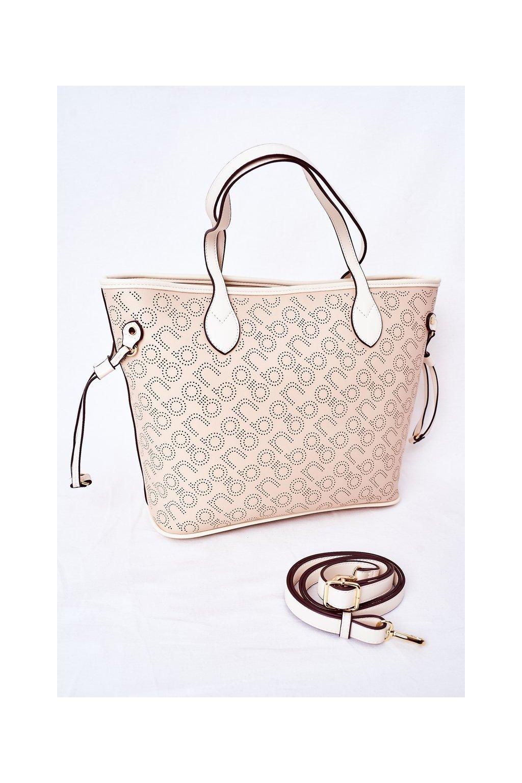 Dámska kabelka hnedá kód kabelky NBAG-K3160-C015 BEIGE