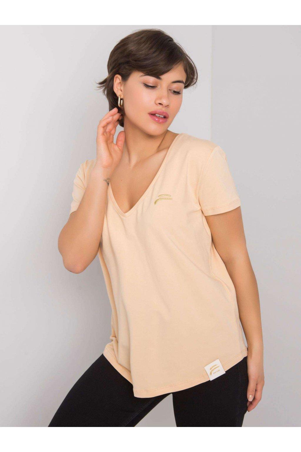 Dámske tričko jednofarebné kód TK-FF-TS-01042021.42P