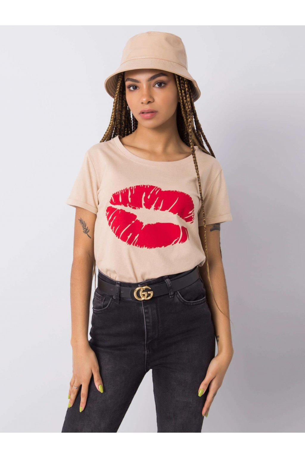 Dámske tričko s podtlačou kód TW-TS-BL-001.99