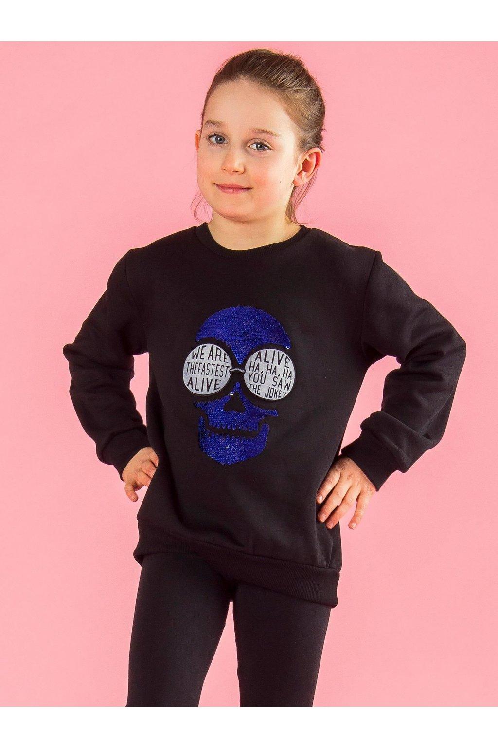 Detská dievčenská mikina kód TY-BL-13315.47