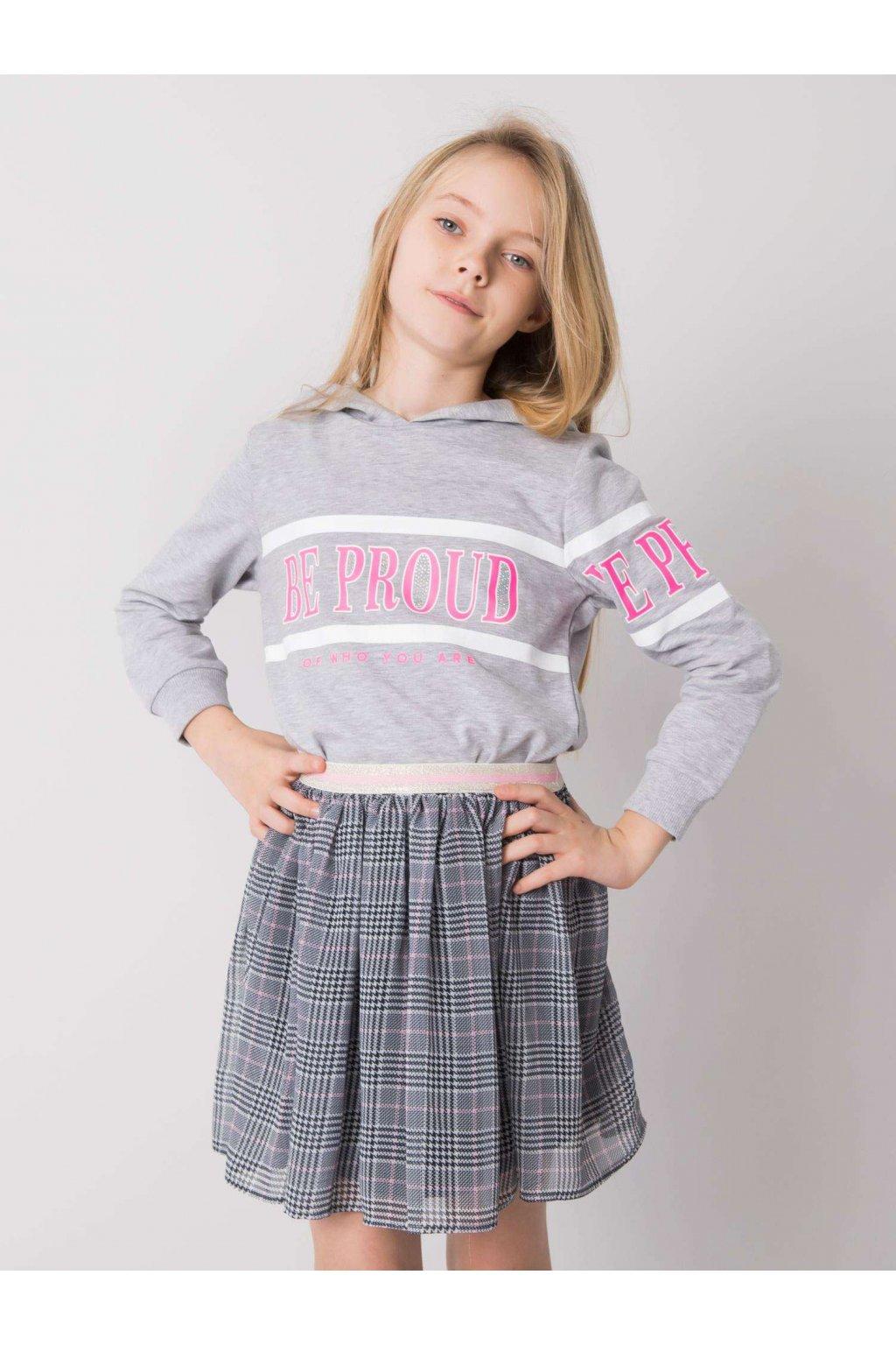 Detská dievčenská mikina kód TY-BL-16351.94
