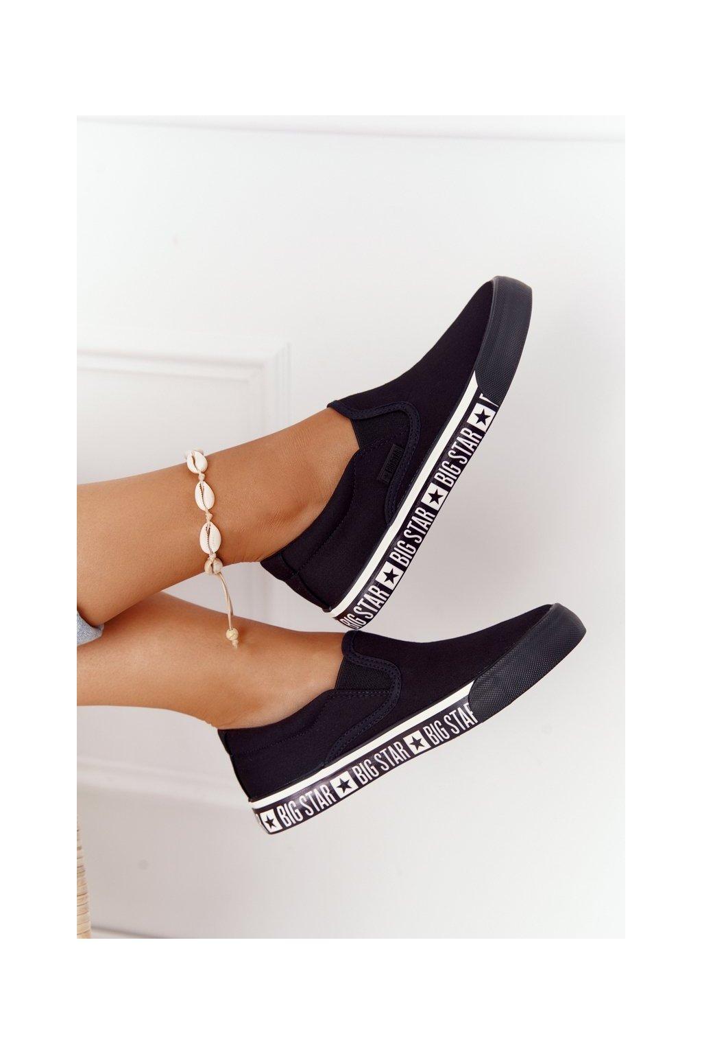 Dámske tenisky farba čierna kód obuvi HH274012 BLACK