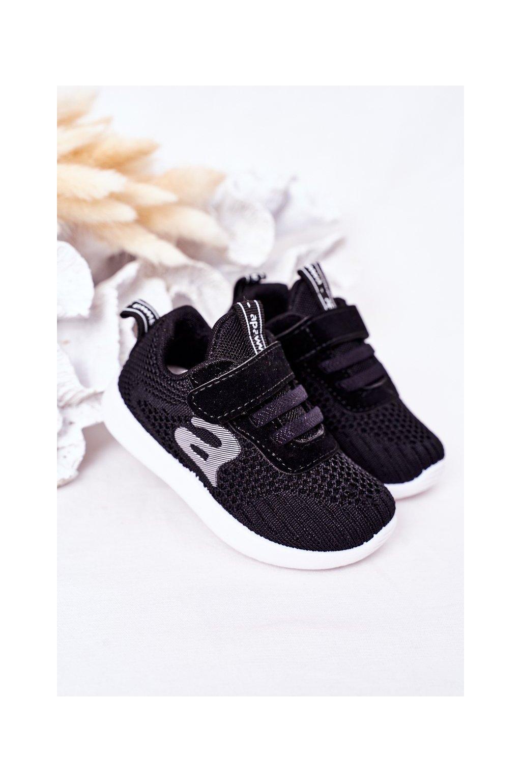 Detské tenisky farba čierna kód obuvi ZC02 ZC03 BLACK