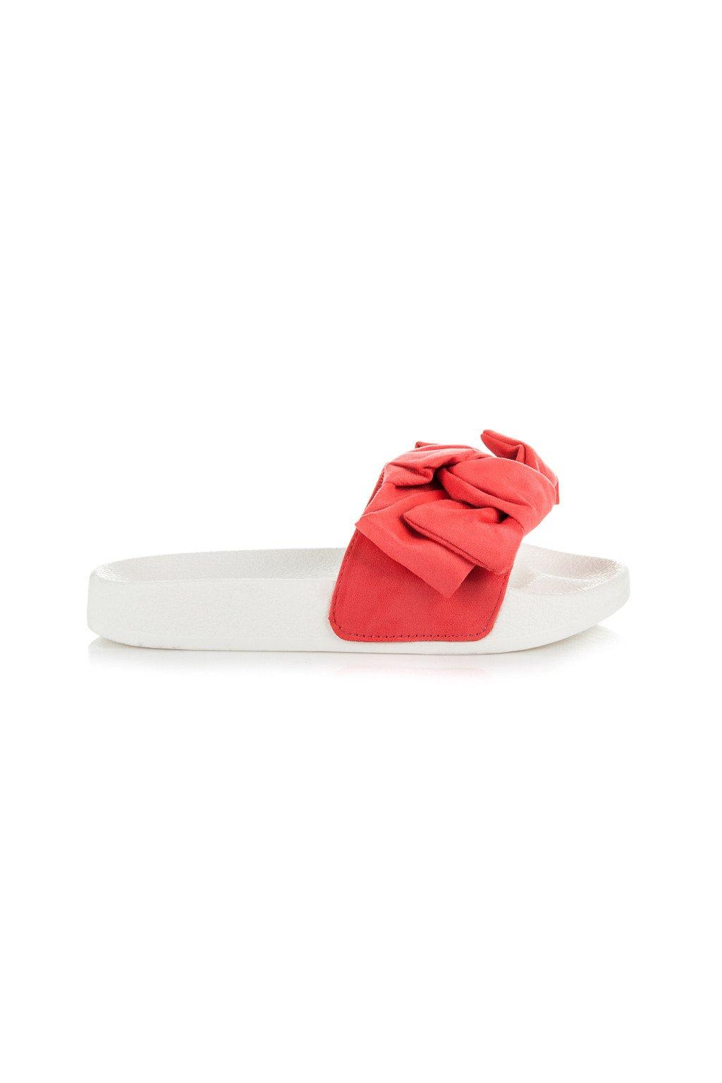 Červené šľapky 8230-44CO