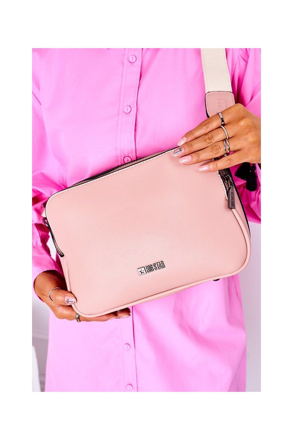 Dámska kabelka ružová kód kabelky HH574086 PINK