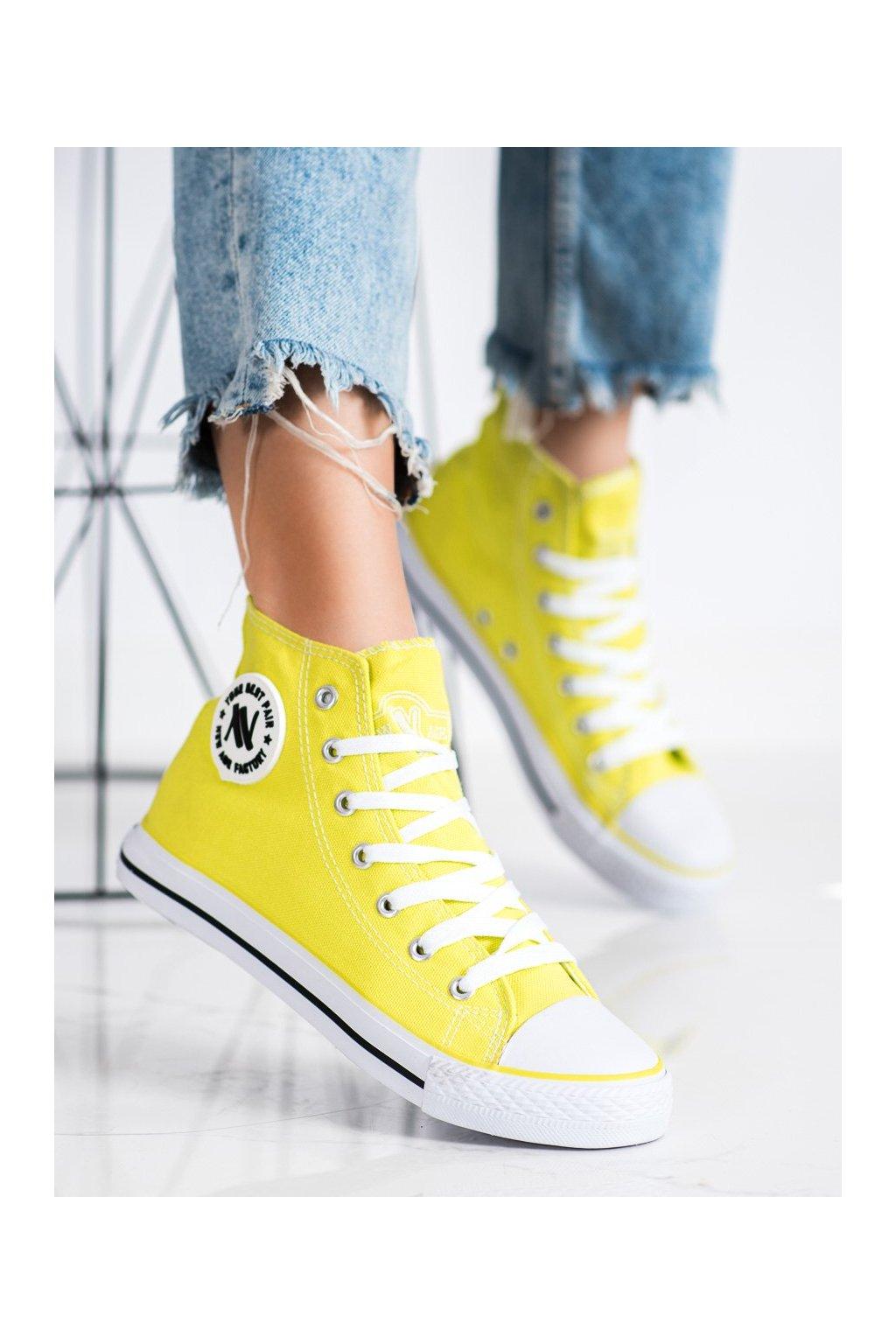 Žlté tenisky New age kod 082N.GR