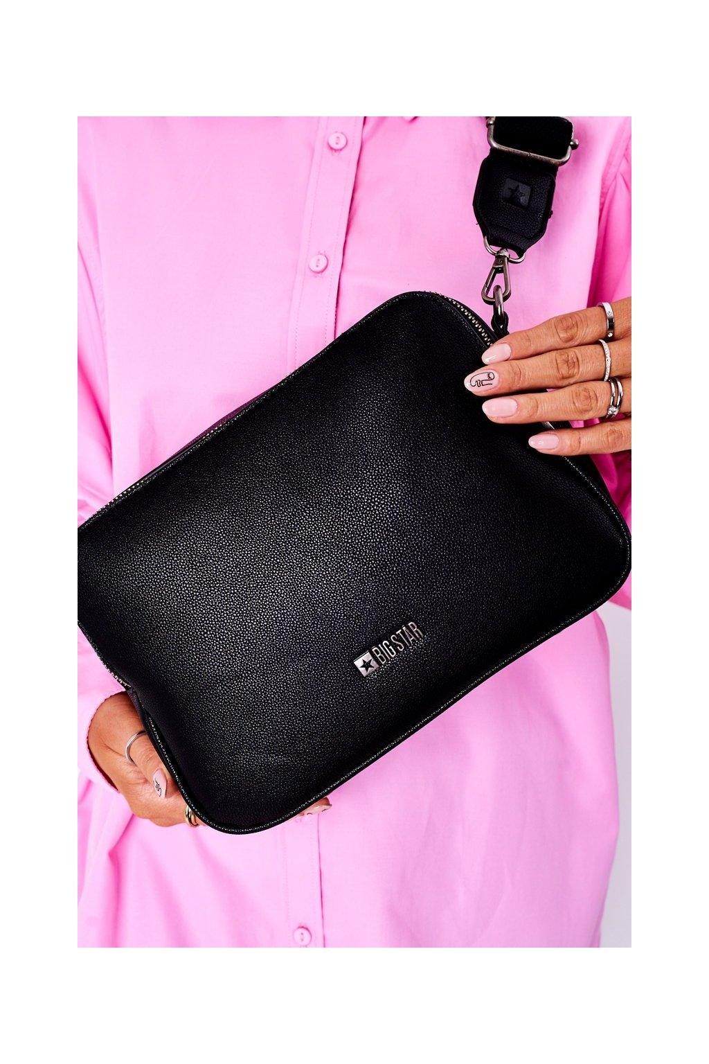 Dámska kabelka čierna kód kabelky HH574083 BLK