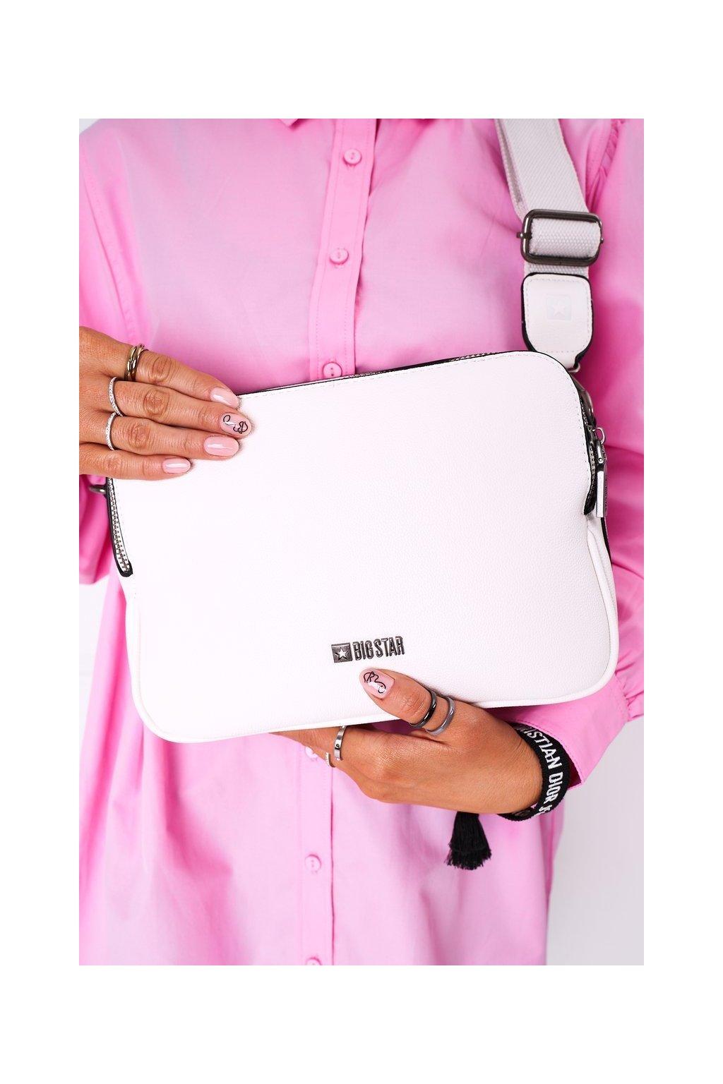 Dámska kabelka biela kód kabelky HH574084 WHITE