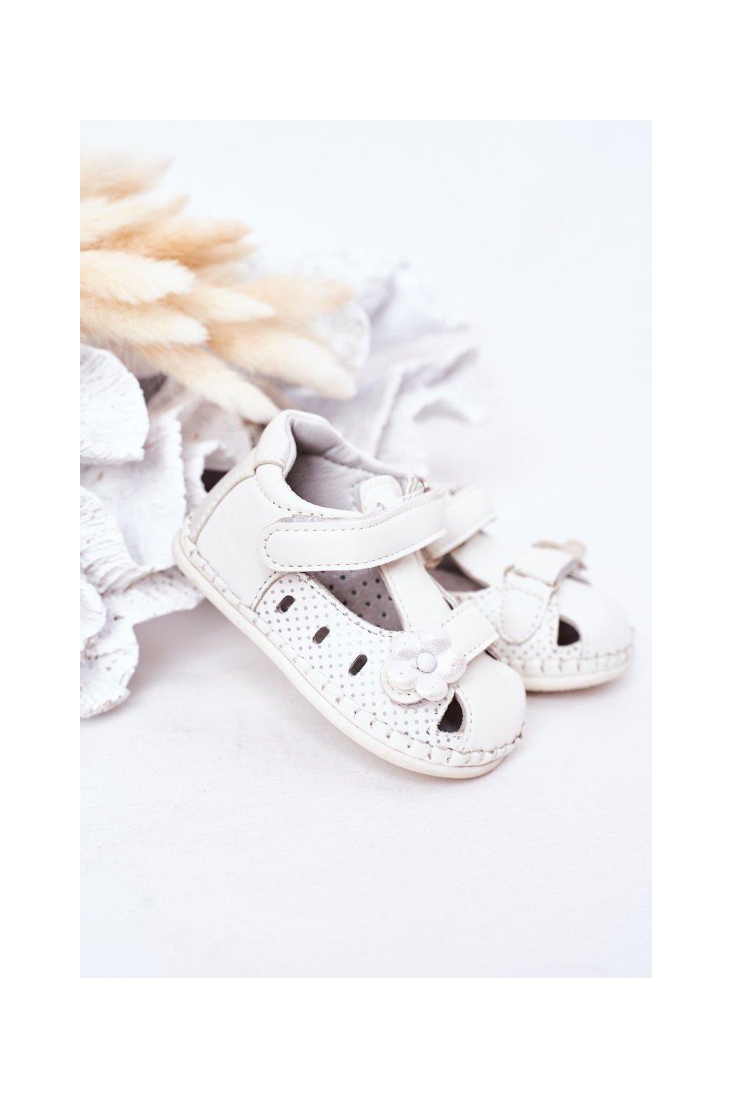 Detské sandále farba biela kód obuvi FX19-18 WHITE