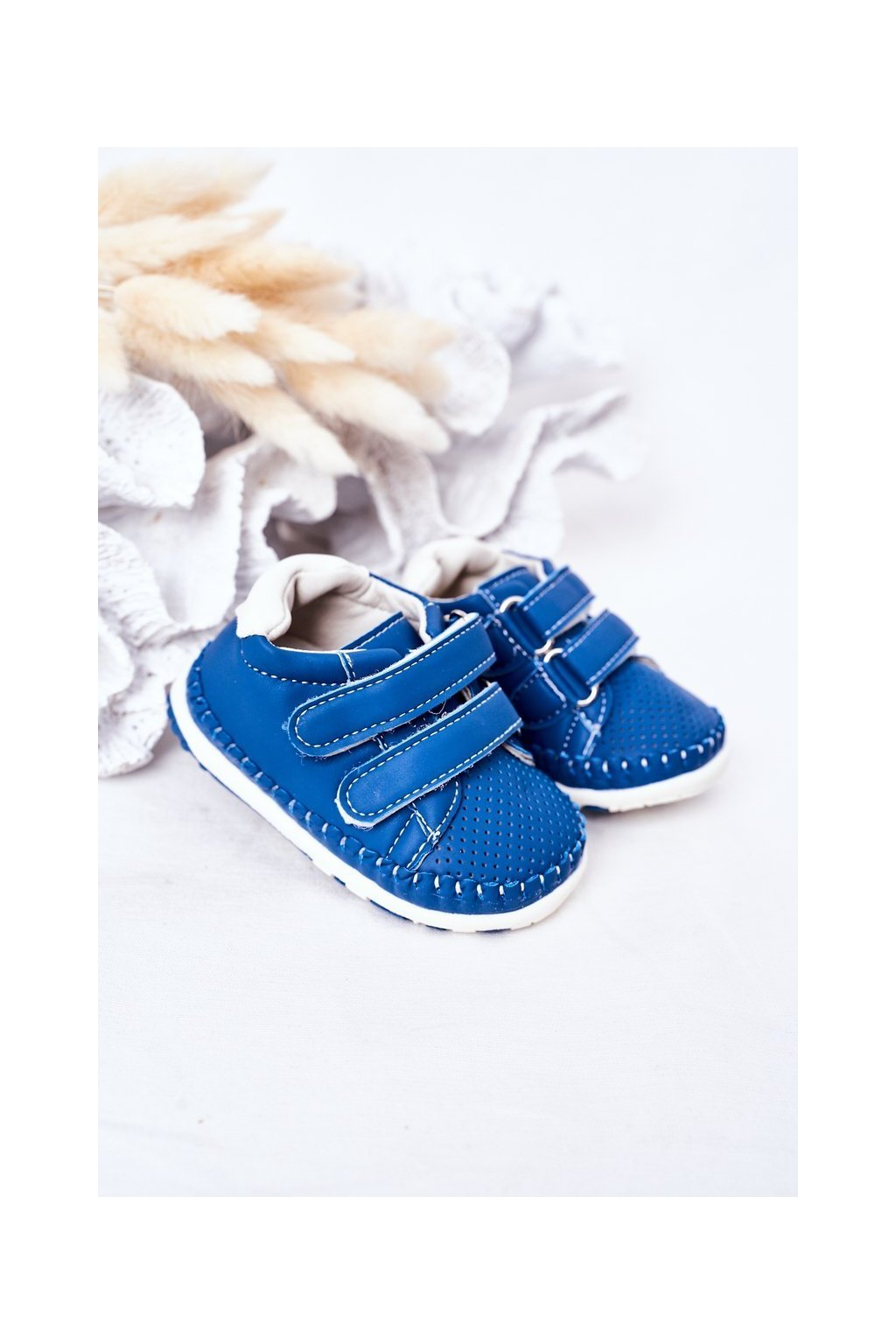 Detské tenisky farba modrá kód obuvi FC110 BLUE