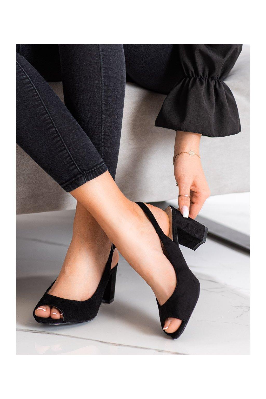 Čierne sandále Goodin kod GD-XR-200B