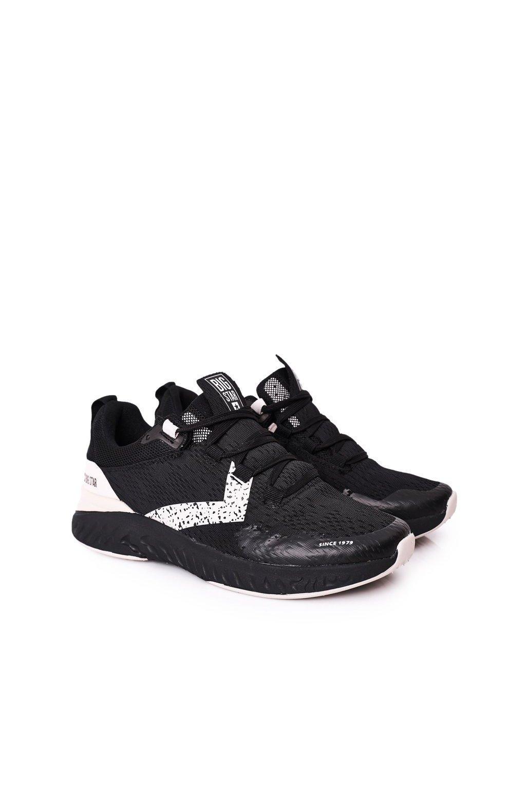 Čierna obuv kód topánok HH174236 BLACK