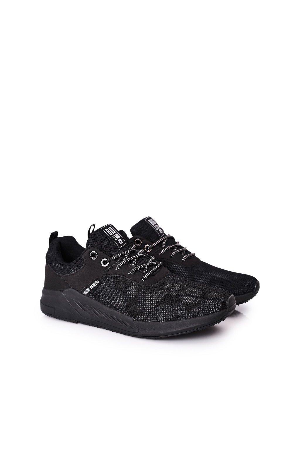 Čierna obuv kód topánok HH174141 BLACK