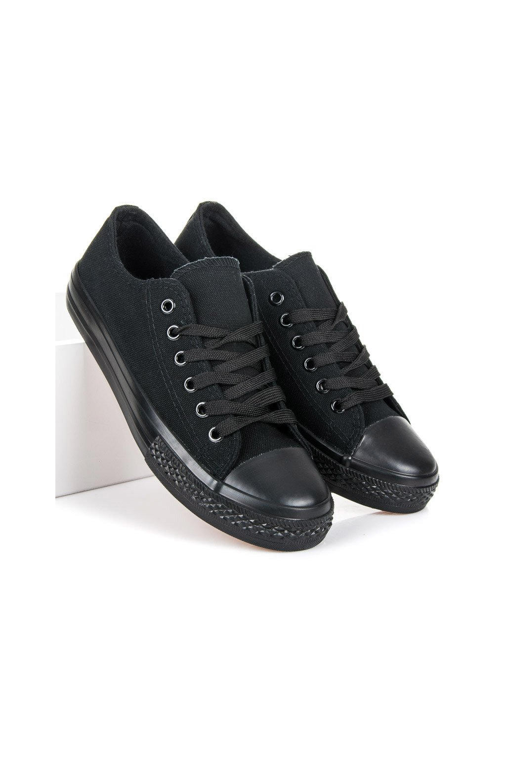 Čierne tenisky Shelovet kod XL03B/