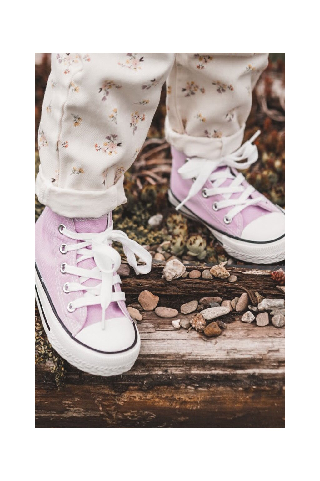 Detské tenisky farba fialová kód obuvi 80090-G PURPLE
