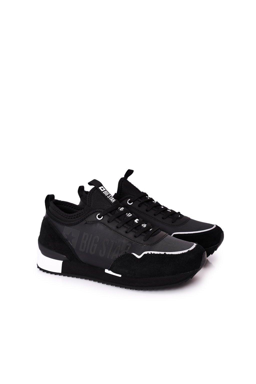 Čierna obuv kód topánok HH174212 BLACK