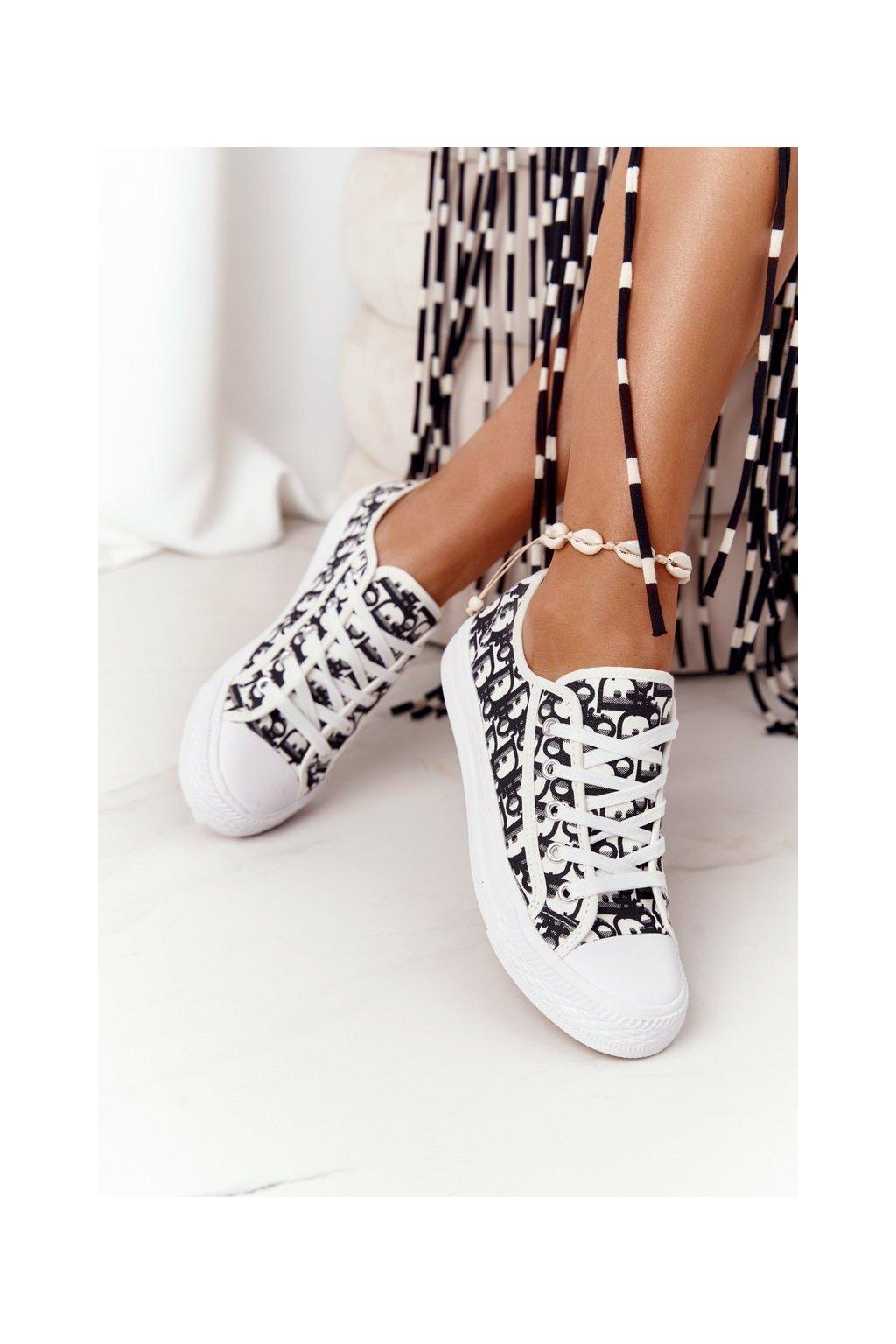 Dámske tenisky farba čierna kód obuvi XL30 BLACK