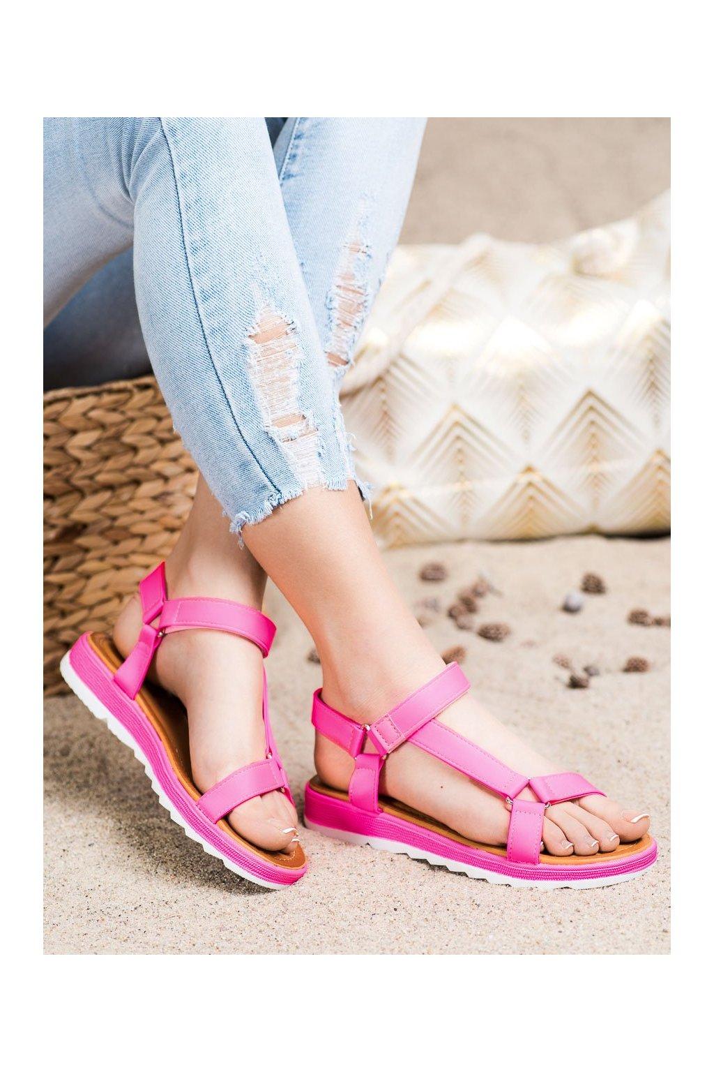 Ružové sandále Shelovet kod WS9027RO