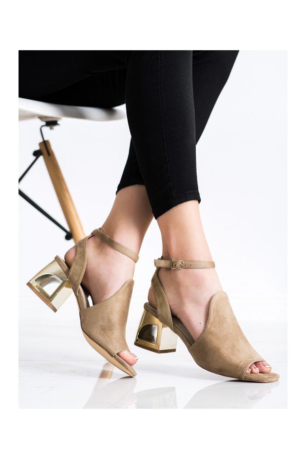 Hnedé sandále Filippo kod DS2107/21BE
