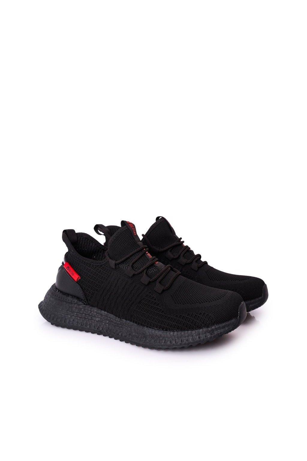 Čierna obuv NJSK HH174273 BLACK