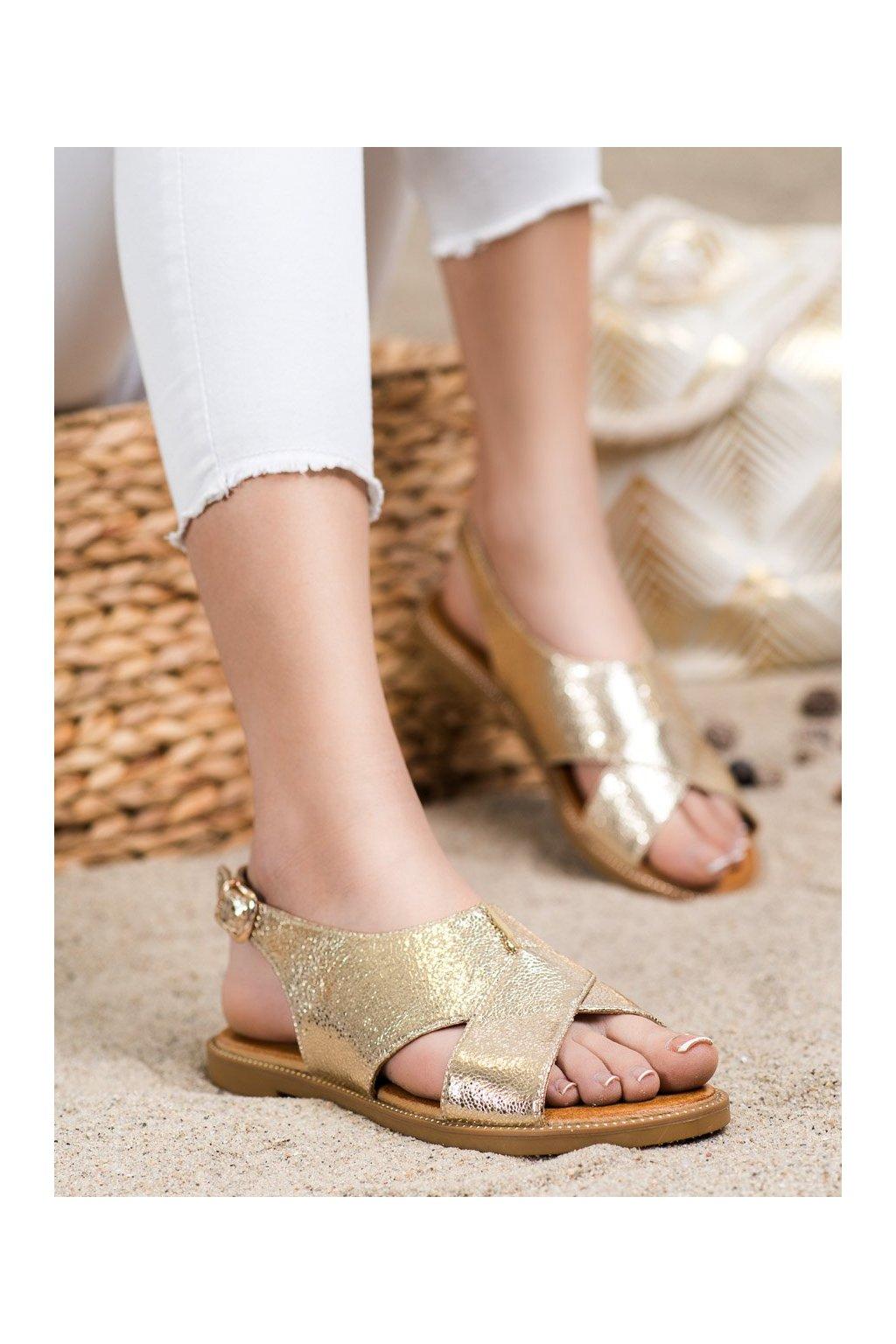 Žlté sandále Filippo kod DS2104/21GO