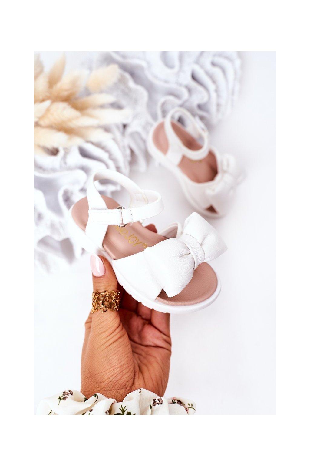 Detské sandále farba biela kód obuvi 278-D WHITE