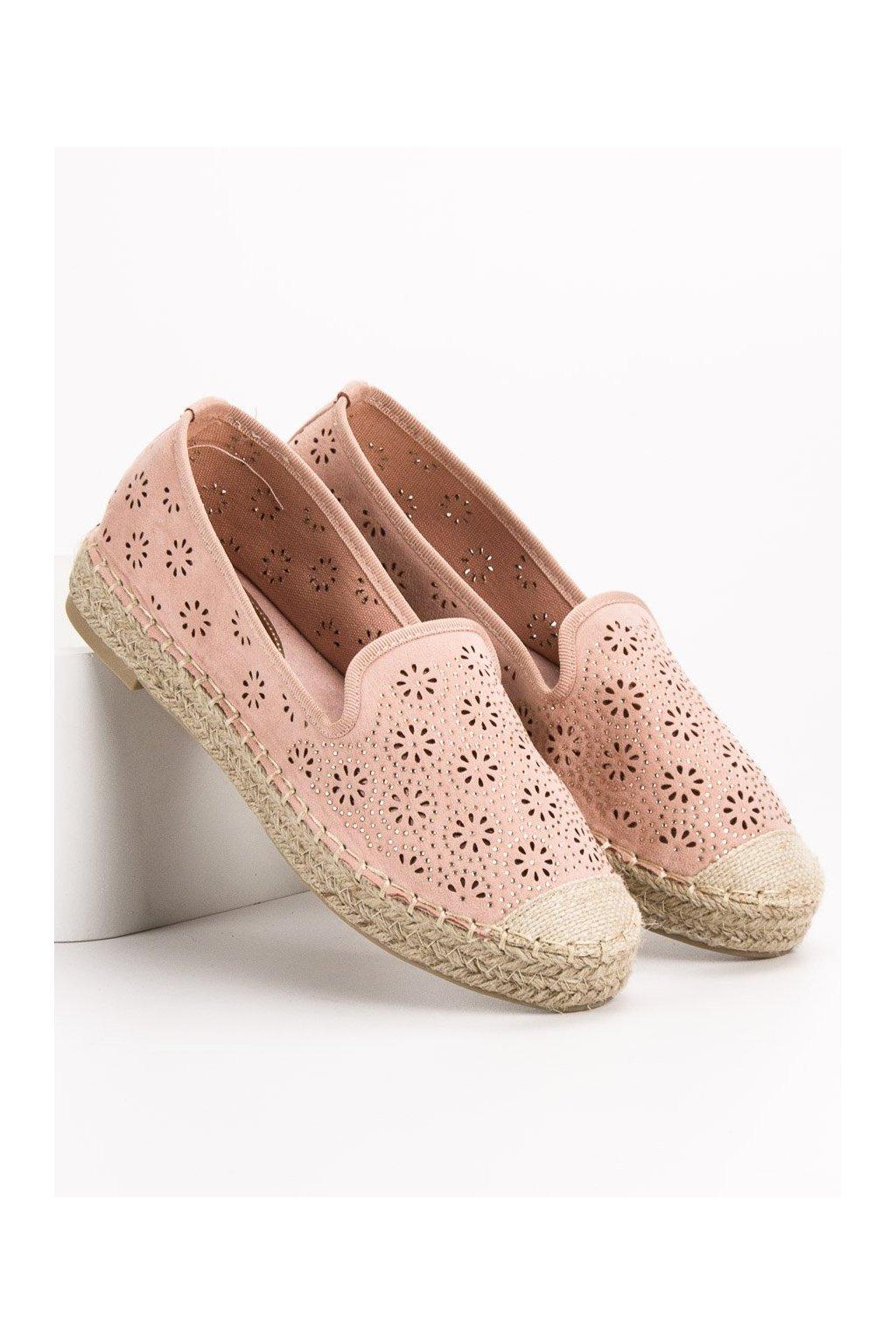 Ružové dámske balerínky Vices kod 9269-20P