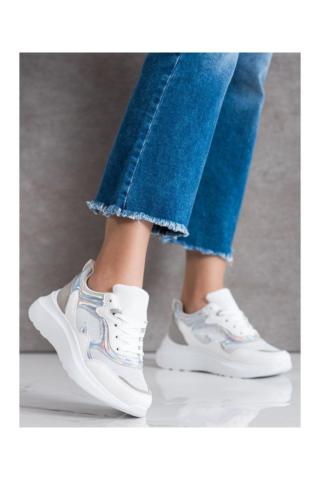 Sivé tenisky Sweet shoes kod L8070S