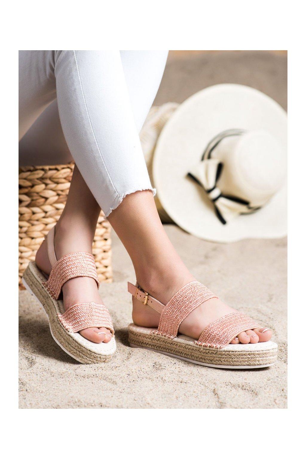 Ružové sandále Shelovet kod WSA-65P