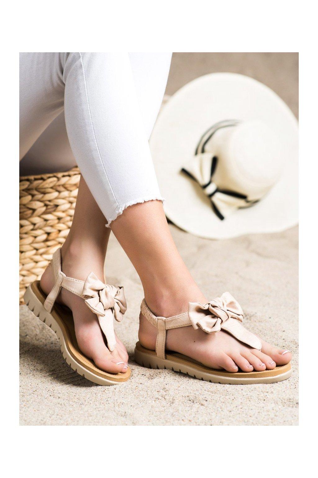 Hnedé sandále Shelovet kod 697BE