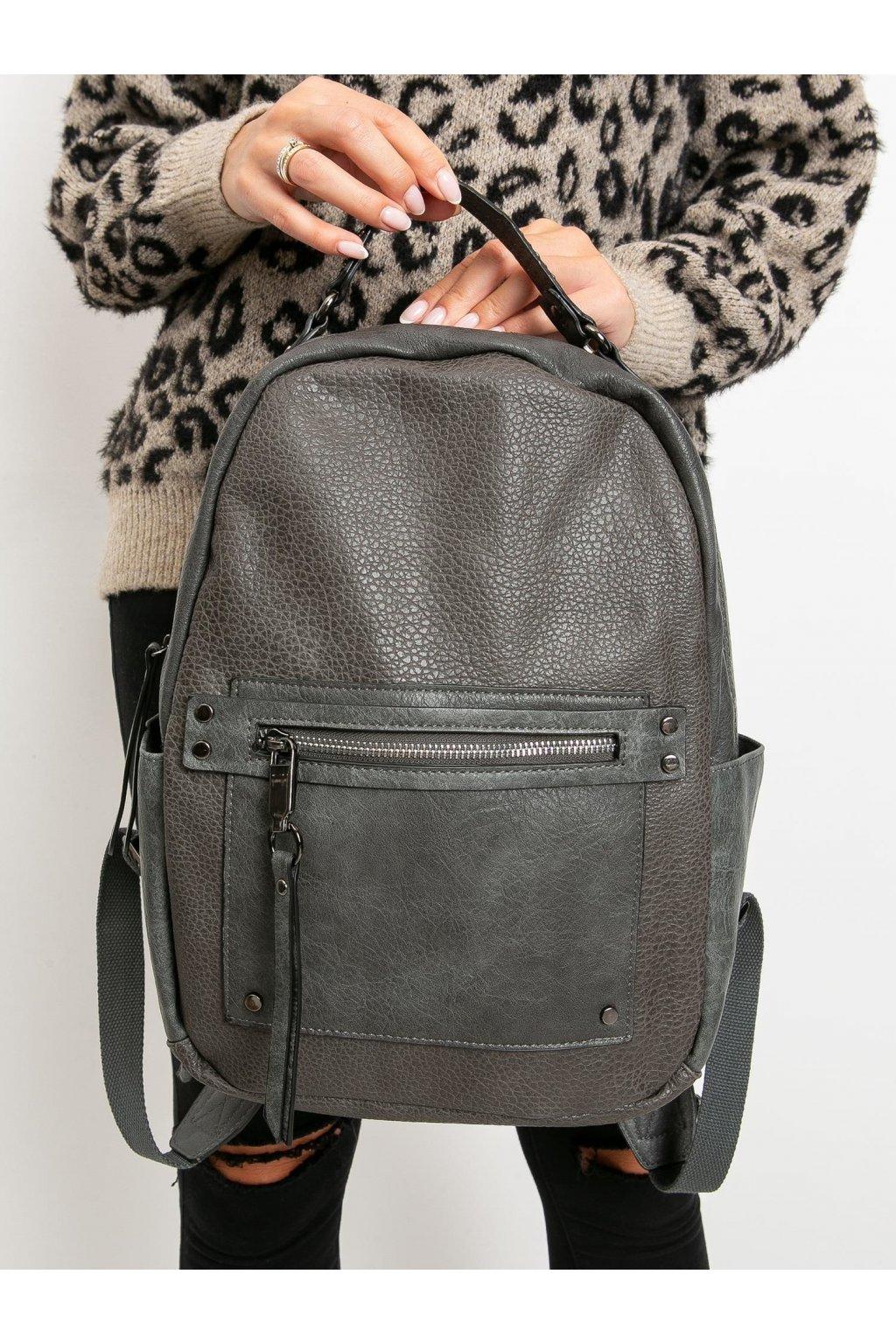 Sivá kabelka NJSK OW-TR-X7182.68