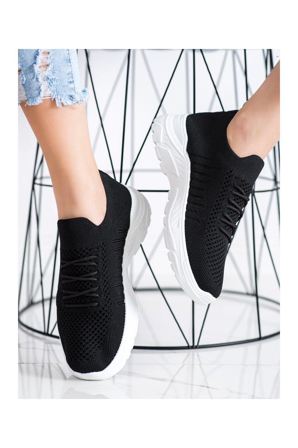 Čierne tenisky Sweet shoes kod L8073B
