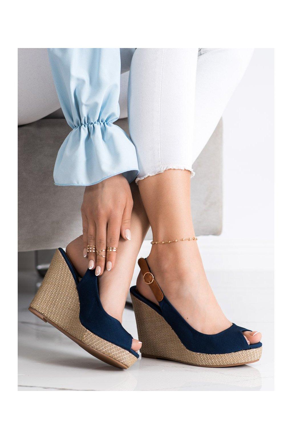 Modré sandále Goodin kod GD-NF-05DK.BL
