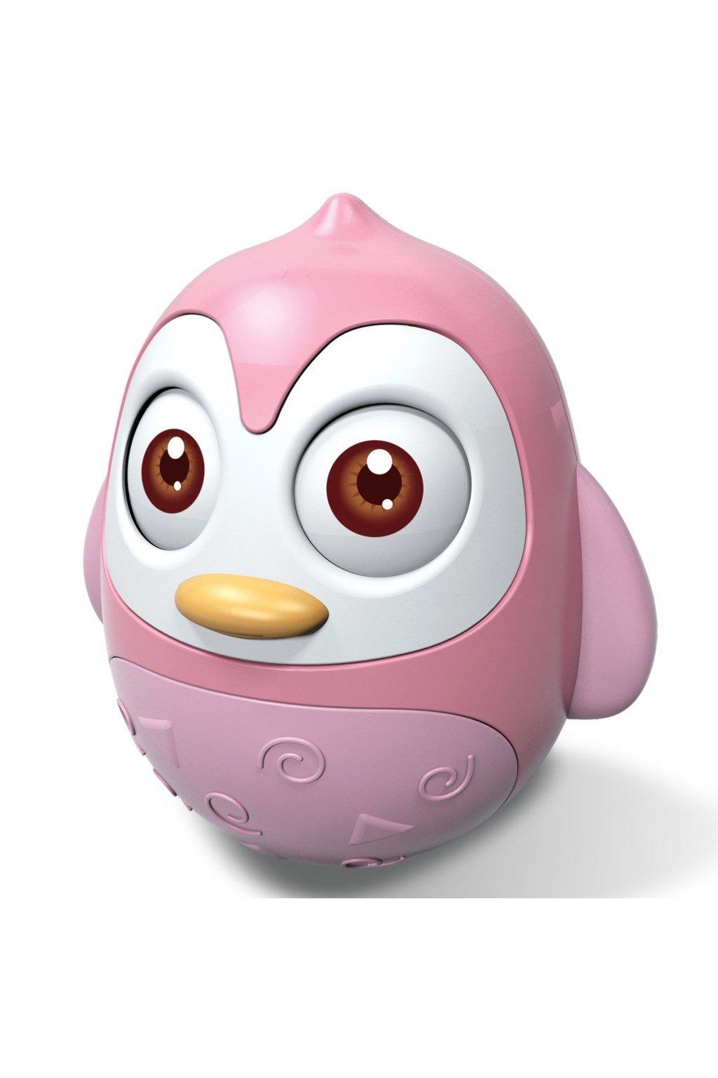 Kývajúca sa hračka Bayo tučniak pink NJSK 40054