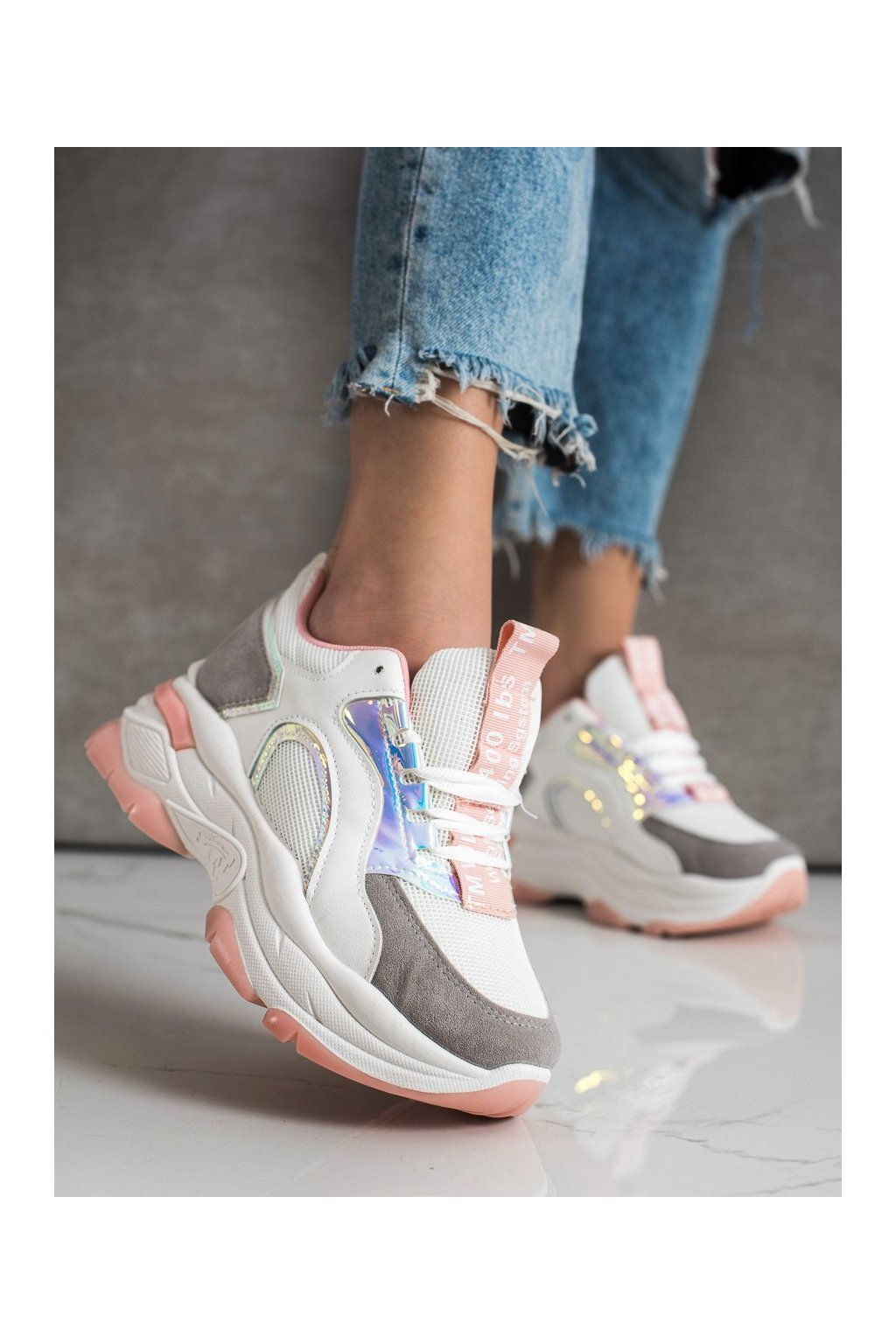 Viacfarebné tenisky Fashion kod R12D518-11P