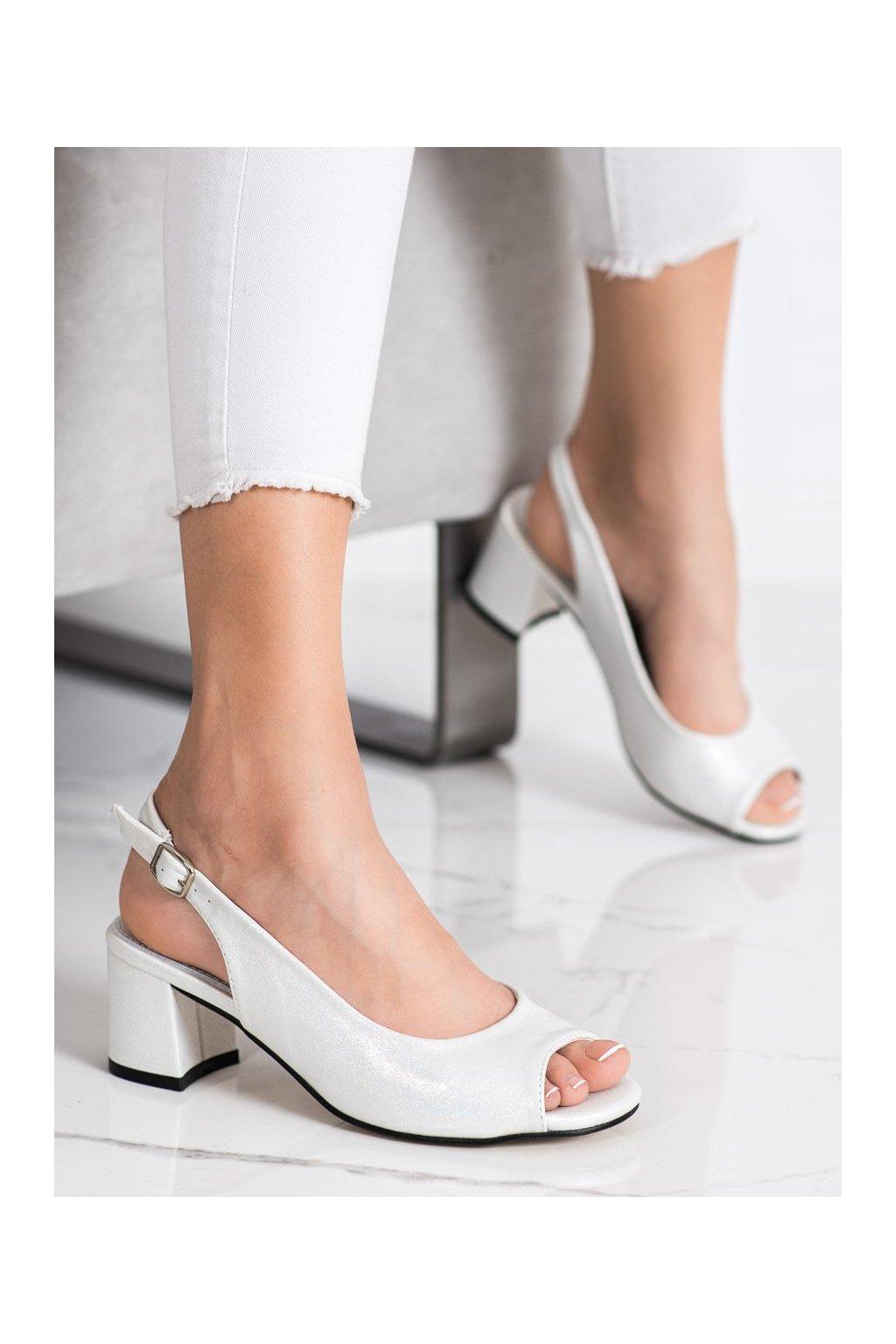 Biele sandále Goodin kod GD-FL1062W