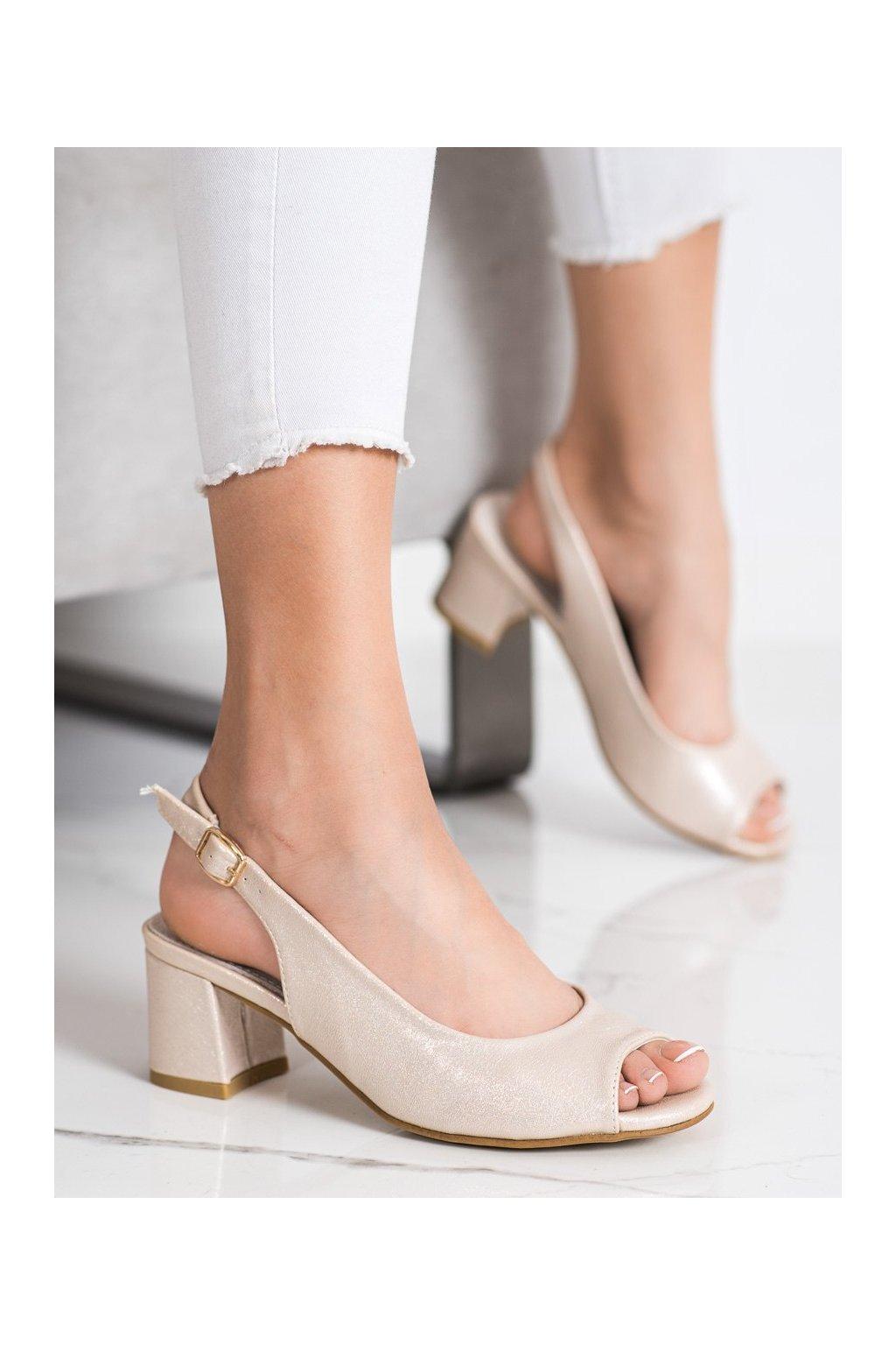 Žlté sandále Goodin kod GD-FL1062LT.GO
