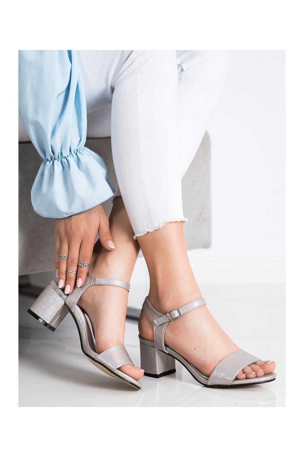 Sivé sandále Goodin kod GD-FL1028TA