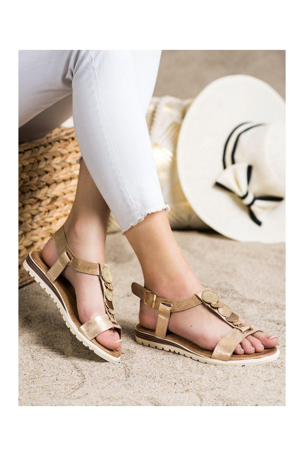 Žlté sandále Evento kod 20SD014-2067T