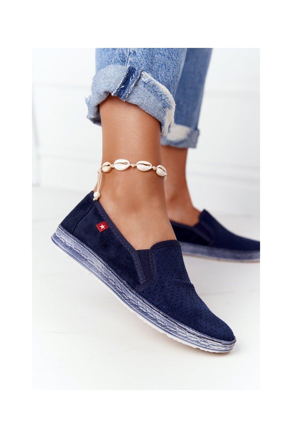 Dámske tenisky farba modrá kód obuvi HH276004 NAVY